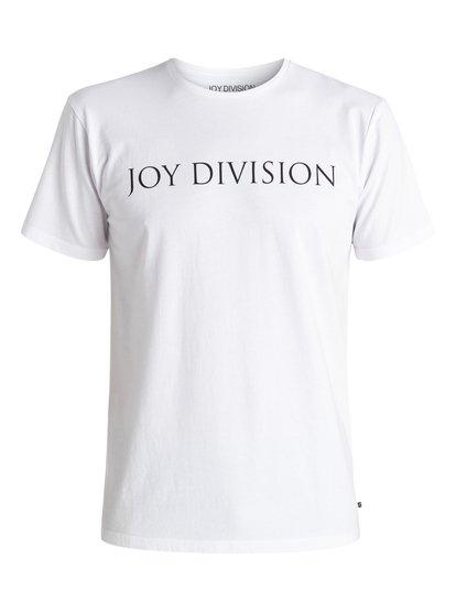 Quiksilver Music Collab Joy Division Logo - T-Shirt  EQYZT04134