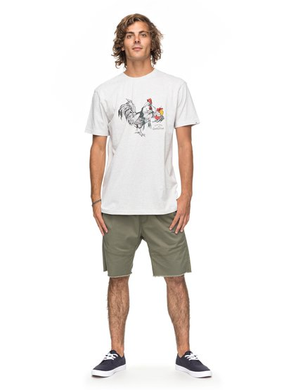 Футболка Heather Rooster Vibe толстовка классическая quiksilver highland gaze medium grey heather