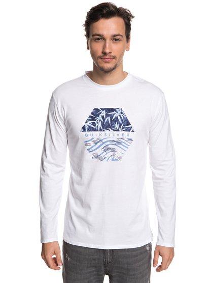 Bamboo Breakfast - t-shirt à manches longues pour homme - blanc - quiksilver