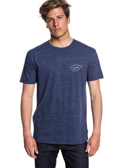 Banzai Bar - t-shirt col rond pour homme - bleu - quiksilver