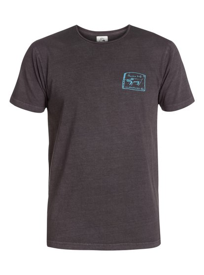 quiksilver, Ghetto Dog Modern Fit T-Shirt, Grey Charcoal (kta0