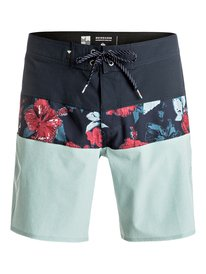 QK BOARDSHORT PANNEL BLOCKED VEE 19 IMP  BR60012389