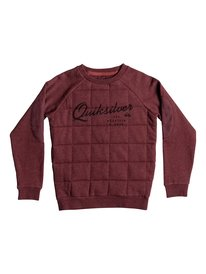Happy Myth - Quilted Sweatshirt  EQBFT03229
