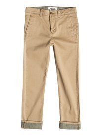 Krandy Straight Fit Block - Chinos  EQBNP03043