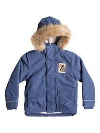 Short Rain - Water-Repellent Parka Jacket  EQKJK03079