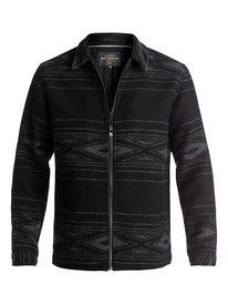 Waterman Salina Cruz - Zip-Up Wool Jacket  EQMJK03002