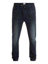 Fonic Dark Blue - Slim Fit Denim Joggers  EQYDP03229