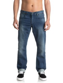 Revolver Iron Blue - Straight Fit Jeans  EQYDP03336