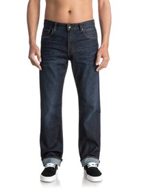 High Force Blue Glass - Relaxed Fit Jeans  EQYDP03342