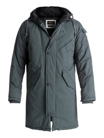 Kayapa - Water Repellent Longline Parka  EQYJK03351