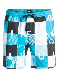 "Check Remix 17"" - Swim Shorts  EQYJV03052"
