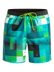 "Check Mark 17"" - Swim Shorts  EQYJV03196"