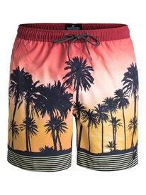 "Sunset Vibes 17"" - Swim Shorts  EQYJV03303"