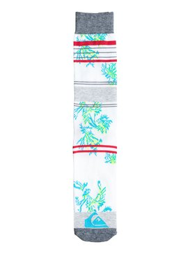 Front Boarded Palm Tree Sock  06414A