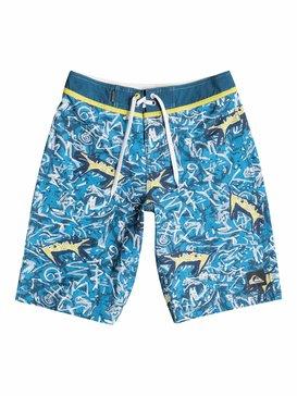 MO YOKE GHETTO BOARD SHORT Azul 40565031