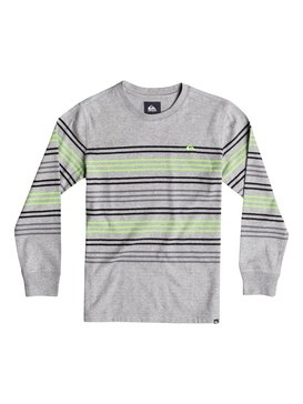 SNIT CREW STRIPE Grey 40664158