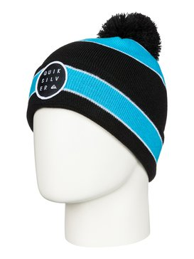 Double Up - Cuff Beanie With Bobble  AQBHA03088