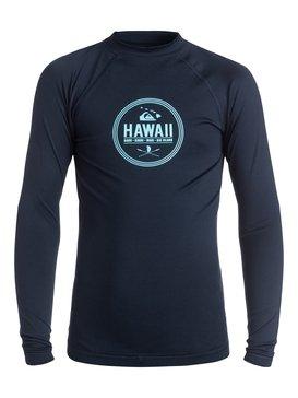 Island Style - Long Sleeve Rash Vest  AQBWR03017