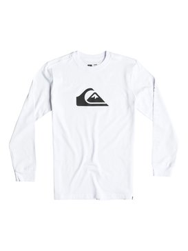 Mountain & Wave Logo - Long Sleeve T-Shirt  AQBZT03115