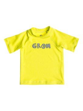 Grom Short Sleeve Rash Vest  AQIWR03004