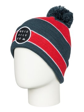 Double Up - Cuff Beanie With Bobble  AQKHA03064