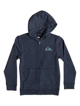 SEA WASHED HOODIE Blue AQKJK03000
