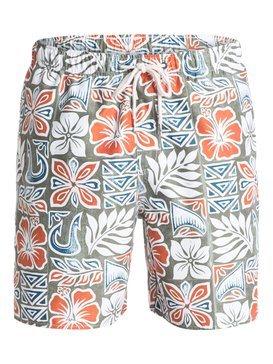 "Waterman Crescent Head 18"" - Swim Shorts  AQMJV03034"