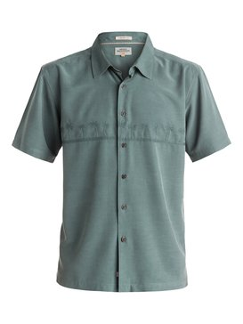 Tahiti Palms - Short Sleeve Shirt  AQMWT03108