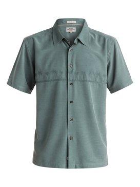 Tahiti Palms - Short Sleeve Shirt  AQMWT03108