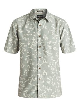 Waterman Skinny Palms - Short Sleeve Shirt  AQMWT03321