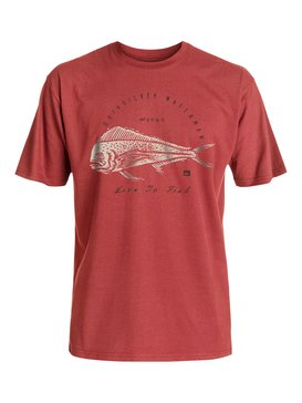Live To Fish - T-Shirt  AQMZT03212