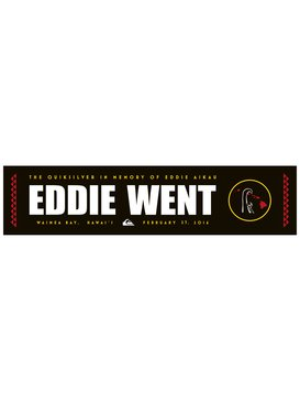 EDDIE WENT STICKER  AQYAA03152