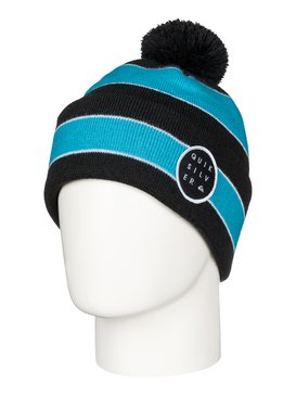 Double Up - Cuff Beanie With Bobble  AQYHA03254