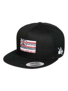 EDDIE FLAG SNAPBACK Negro AQYHA03353