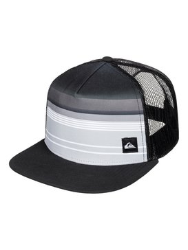 EVERYDAY STRIPE TRUCKER Black AQYHA03577