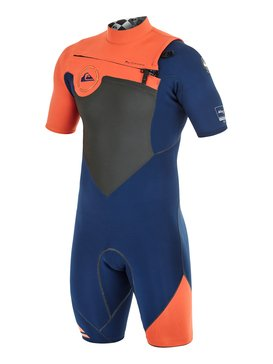 AG47 Performance 2/2mm - Chest Zip Short Sleeve Springsuit  AQYW503012
