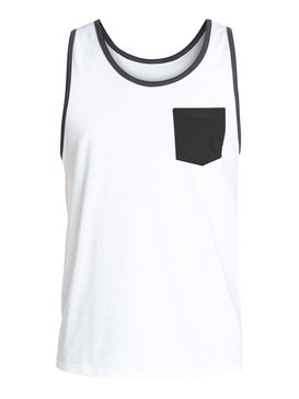 EVERYDAY PKT TANK MIA Blanco AQYZT03242