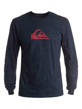 Mountain & Wave Logo - Long Sleeve T-Shirt  AQYZT04158