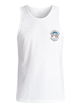 FADED TIME TANK MT1 Blanco AQYZT04335