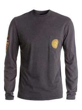 Bubble Logo - Long Sleeve T-shirt  AQYZT04451