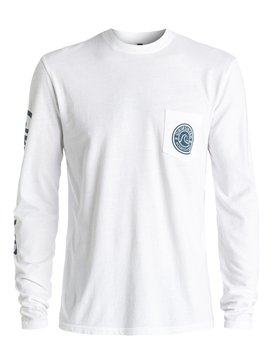 Bubble Logo - Long Sleeve T-shirt  AQYZT04451
