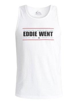 EDDIE WENT 2 PHOTO TANK White AQYZT04514