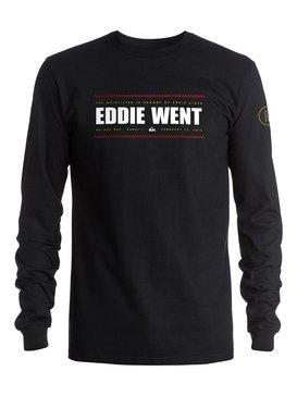 EDDIE WENT 2 PHOTO LS Black AQYZT04518