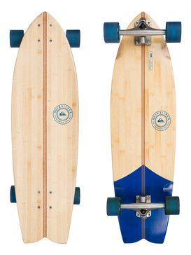 Abacaxi Bamboo - Skateboard Marron EGLQSLSABX