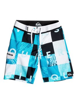 "Check Remix 17"" - Board Shorts  EQBBS03056"