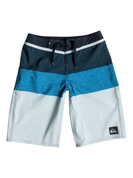 "Everyday Blocked Vee 19"" - Board Shorts  EQBBS03098"