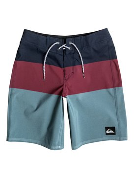 "Blocked Vee 17"" - Board Shorts  EQBBS03129"