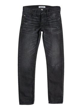 Distortion Oldy Black - Slim-Fit Jeans  EQBDP03053