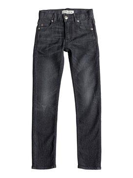 Distorsion Grey Damaged - Slim Fit Jeans  EQBDP03097