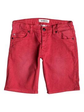 Distorsion Colors - Denim Shorts  EQBDS03025